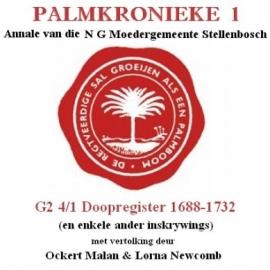 Stellenbosch Doopregister 1688-1732