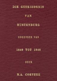 Die geskiedenis van die Rustenburg distrik vanaf ongeveer 1840