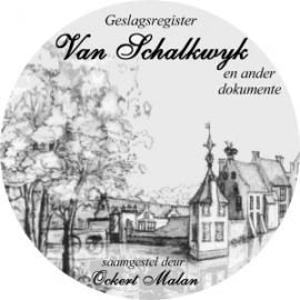 Van Schalkwyk Geslagsregister