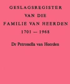 Geslagsregister van die familie Van Heerden