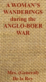 A Woman's Wanderings and Trials during the Anglo-Boer War